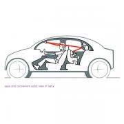 taf toys kooky car mirror